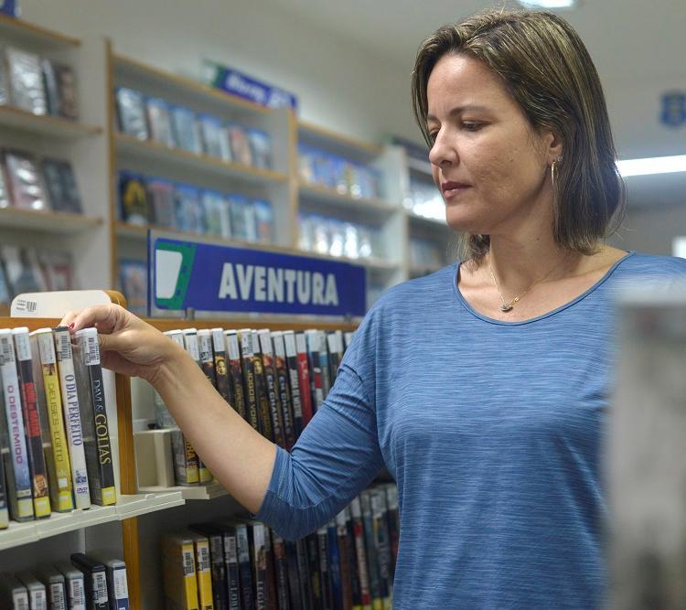 A empresária Ana Paula Dias tem um catálogo atualizado e planos de diversificação