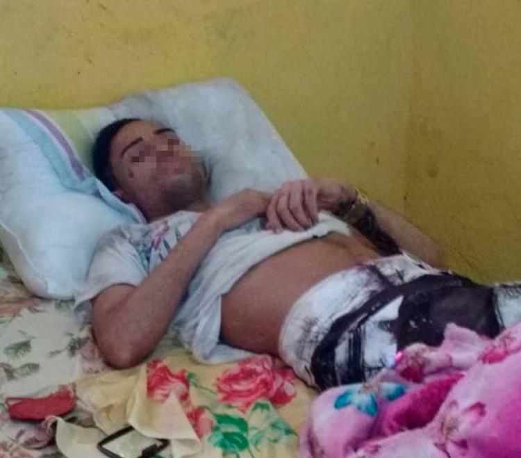 Lucas foi preso neste sábado, 25, durante uma operação da polícia - Foto: Divulgação   SSP