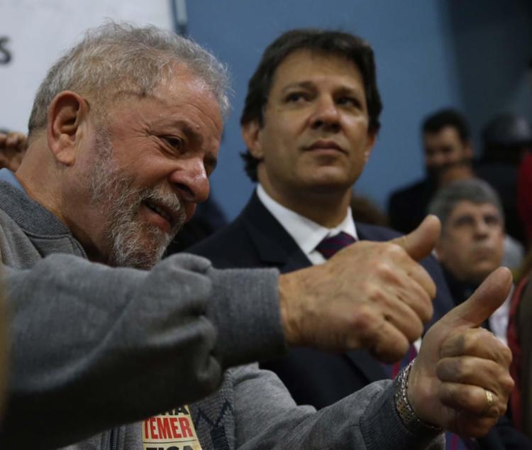 O mais provável substituto do ex-presidente Lula é o ex-prefeito de São Paulo Fernando Haddad - Foto: Paulo Pinto | Fotos Públicas