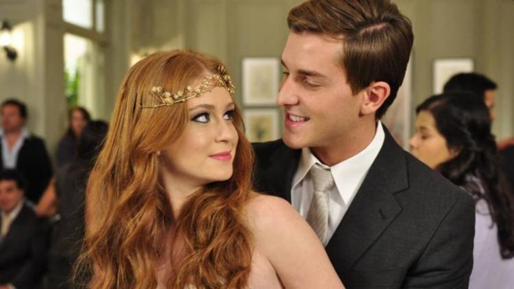 O ator e Marina foram namorados de 2011 a 2014 - Foto: Reprodução | TV Globo