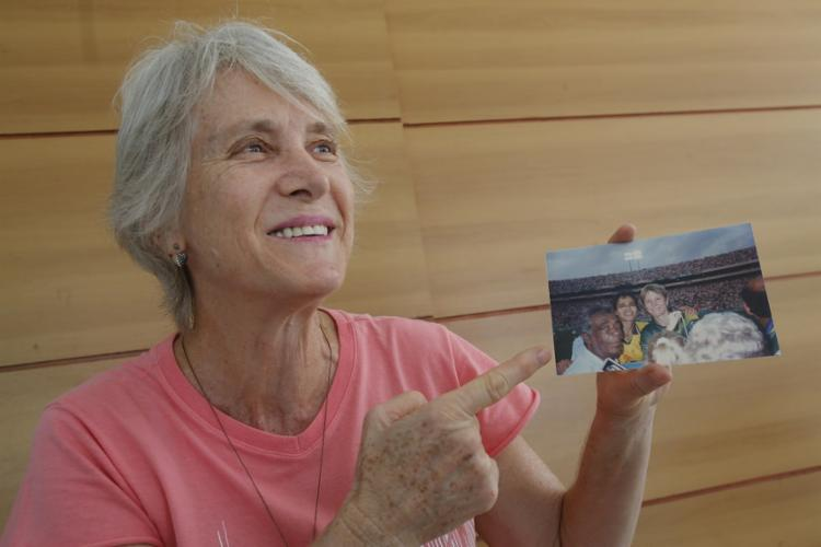 Margarete Pioresan jogou na seleção criada em 1988 - Foto: Margarida Neide / Ag. A TARDE