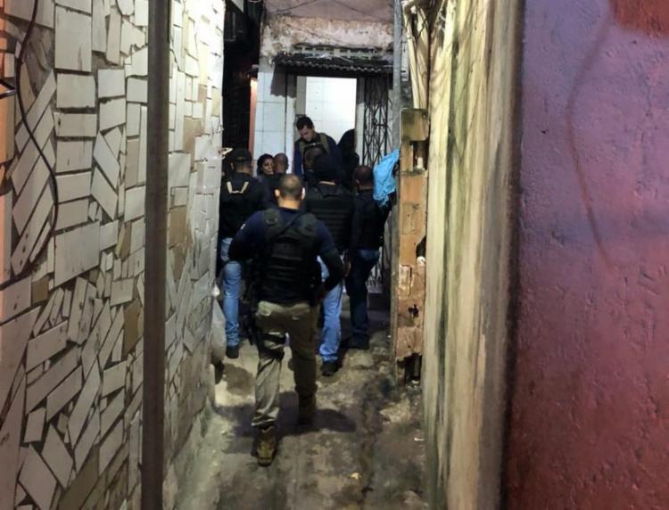 Operação contou com 200 policiais civis e militares - Foto: Divulgação | SSP-BA