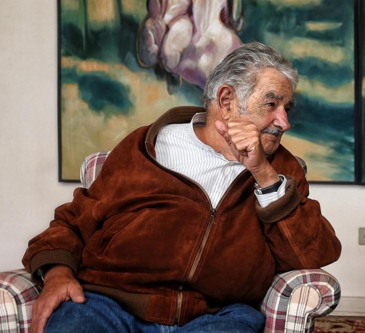Mujica é considerado um dos políticos mais populares do Uruguai   Foto: Filipe Araújo l Divulgação - Foto: Filipe Araújo l Divulgação