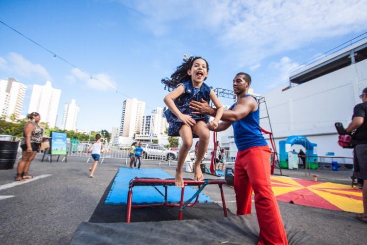 Atividades gratuitas são voltadas para crianças e adolescentes - Foto: Divulgação