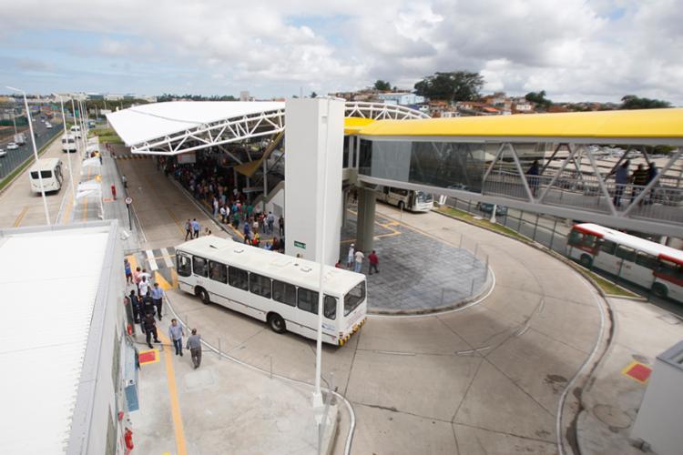Ônibus deixarão de passar pela rua Gerino para chegar à plataforma A do terminal - Foto: Luciano da Matta | Ag. A TARDE