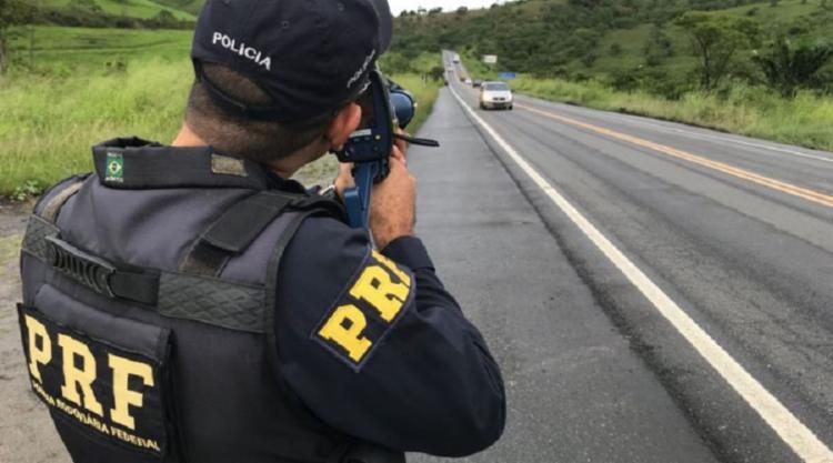 PRF registrou uma redução de 91,66% no índice de acidentes graves - Foto: Divulgação | PRF