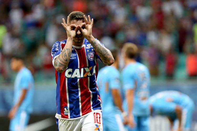 Clube paulista está de olho em meia atacante do Bahia para próxima temporada - Foto: Felipe Oliveira | Divulgação | E. C. Bahia