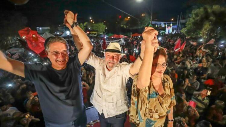 Preso, Lula enviou uma carta destacando a importância de Pimentel e Dilma - Foto: Ricardo Stuckert   Site PT