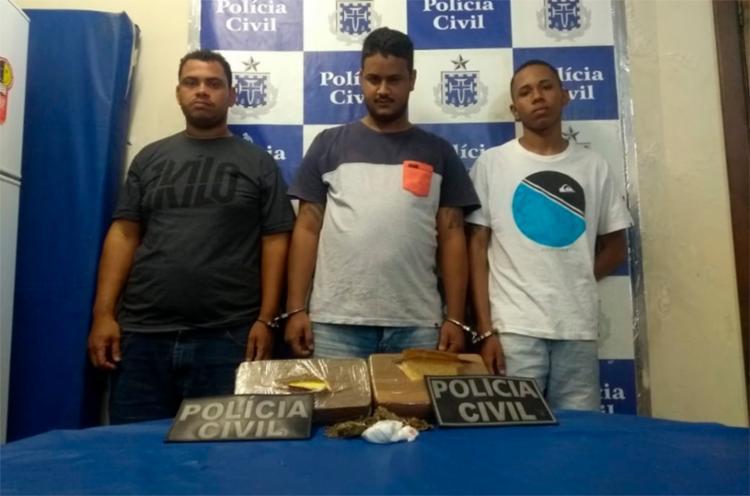 Foram presos mais dois suspeitos de participação no tráfico