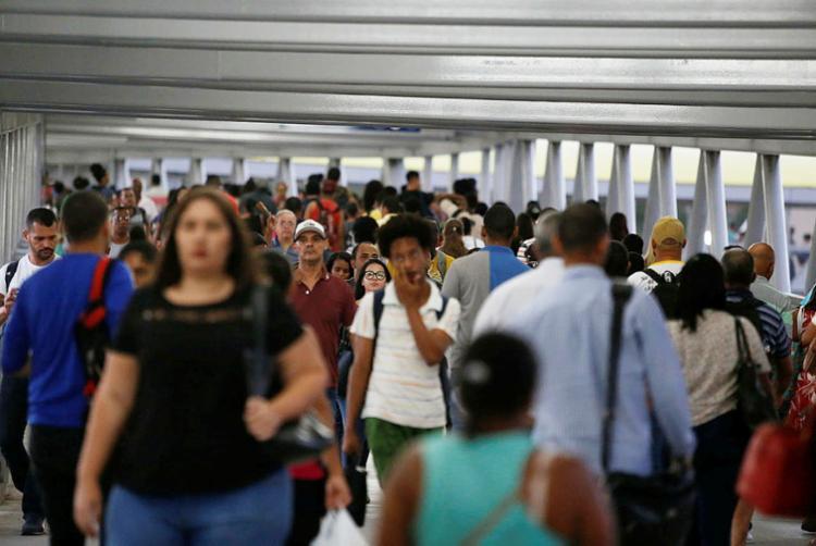 Segundo estimativa do IBGE, Salvador tem 2.857.329 de habitantes - Foto: Luciano Carcará | Ag. A TARDE | 25.07.2018