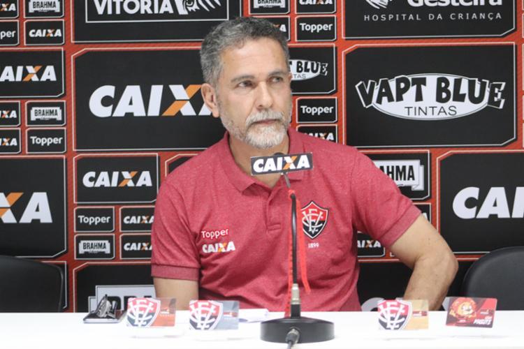 Ricardo David não descarta efetivação de treinador interino - Foto: Maurícia da Matta   Divulgação   E. C. Vitória