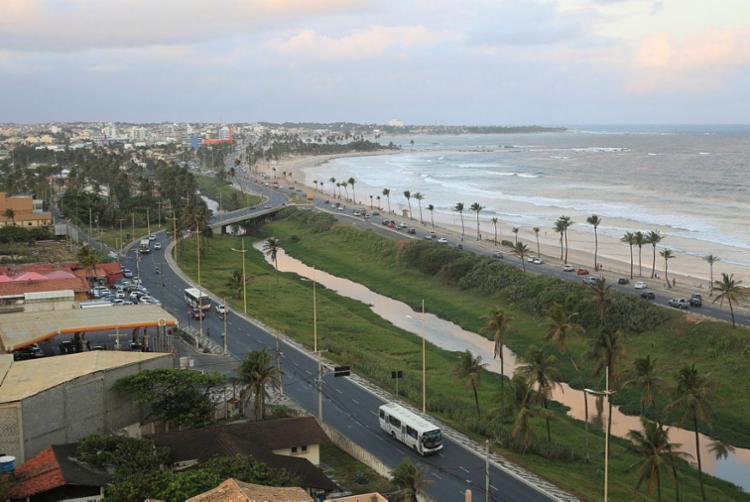 O crime teria acontecido na região da avenida Octávio Mangabeira | Foto: Joá Souza | Ag. A TARDE - Foto: Joá Souza | Ag. A TARDE