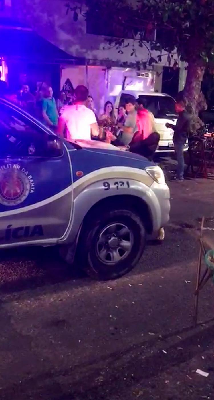 O local é 'point' de muitos jovens nas noites de Salvador - Foto: Reprodução