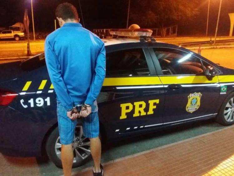 O homem estava em um coletivo que seguia de São Paulo capital para Natal - Foto: Divulgação | PRF