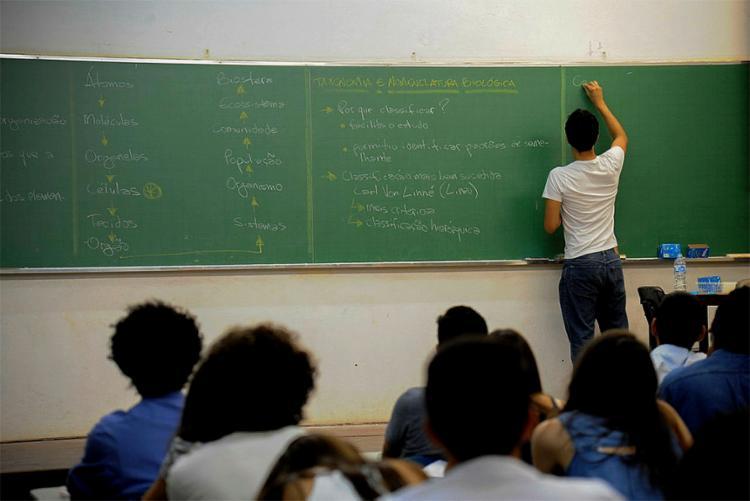 País aumentou gastos com aluno, mas pouco olhou para sala de aula; é preciso selecionar melhor os docentes e tornar a carreira atrativa - Foto: Cecília Bastos l USP Imagens