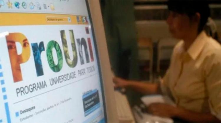 Resultado da primeira chamada do ProUni foi divulgado no dia 6 de fevereiro - Foto: Reprodução