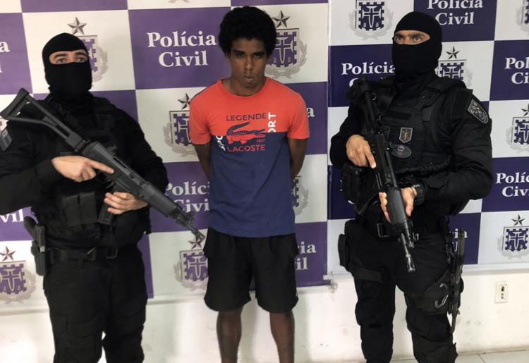William tinha mandado de prisão e era um dos alvos da megaoperação Polêmica - Foto: Divulgação | SSP