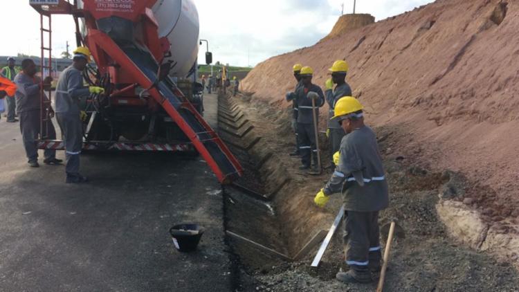 Trechos serão sinalizados durante a realização dos serviços - Foto: Divulgação   Bahia Norte