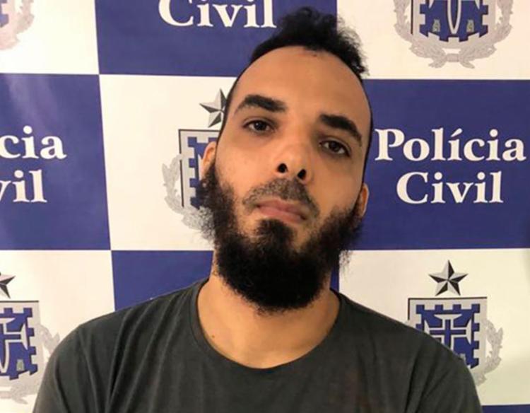 Bruno Santos estava sem rouba em cima do terraço de uma casa em Roma - Foto: Divulgação | SSP-BA