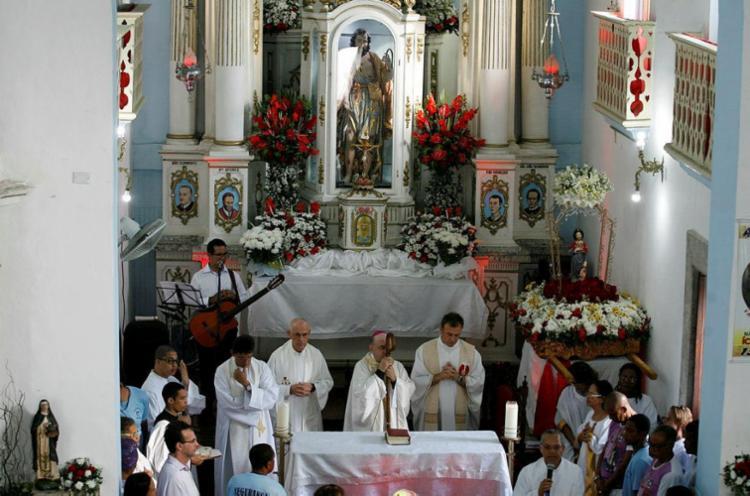 Programação conta com missa presidida pelo Arcebispo Primaz do Brasil, Dom Murilo Krieger - Foto: Adilton Venegereols | Ag. A TARDE