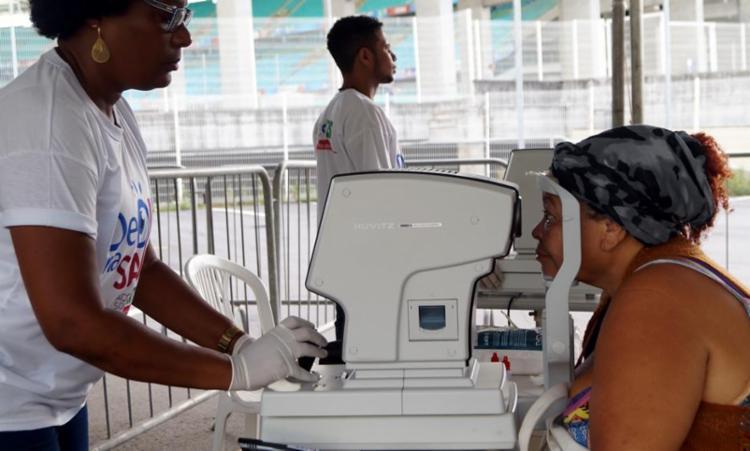 Serão oferecidos 360 atendimentos oftalmológicos - Foto: Divulgação