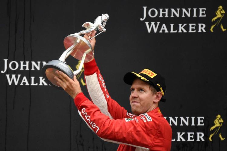 O alemão chegou a 52 na carreira, uma mais do que Alain Prost - Foto: John Thys | AFP