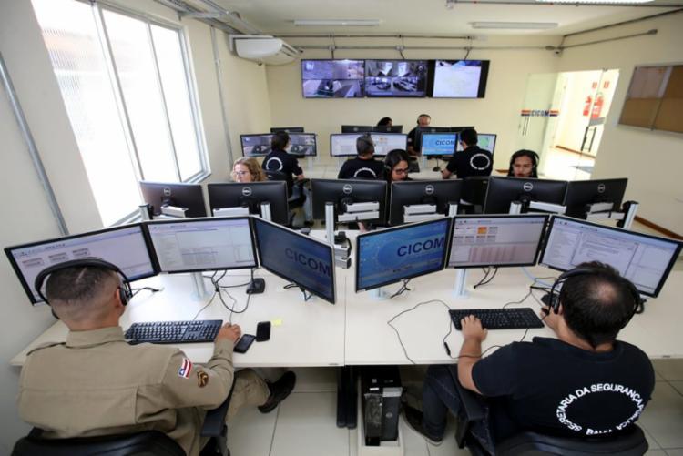 A 22ª CICOM da Secretaria de Segurança Pública foi inaugurada nessa quinta-feira (9), em Euclides da Cunha - Foto: Mateus Pereira/GOVBA