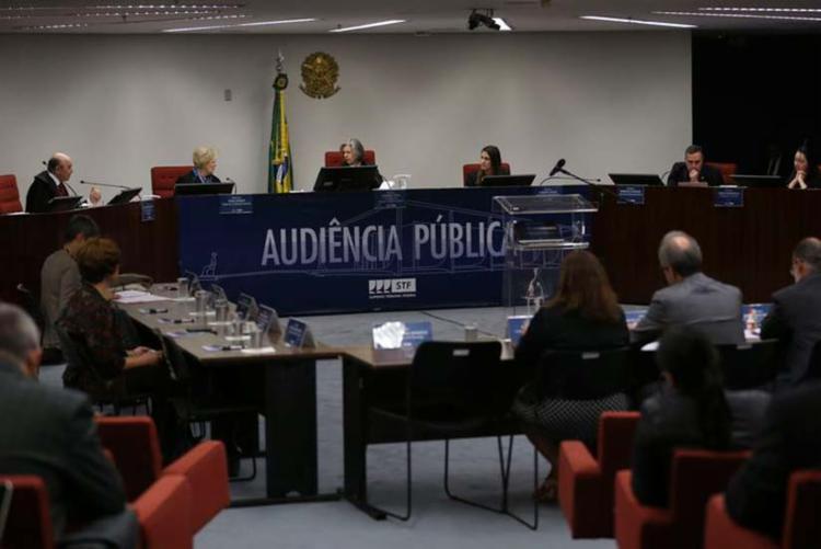 Supremo Tribunal Federal realiza audiência pública sobre descriminalização do aborto - Foto: José Cruz | Agência Brasil