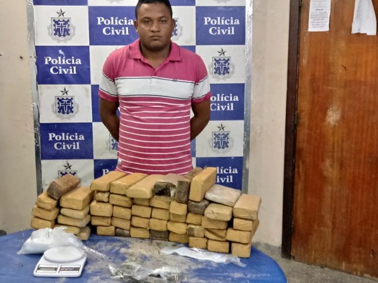 Bie é suspeito também de participar de um grupo criminoso que atua na região de Abrantes - Foto: Divulgação | SSP-BA