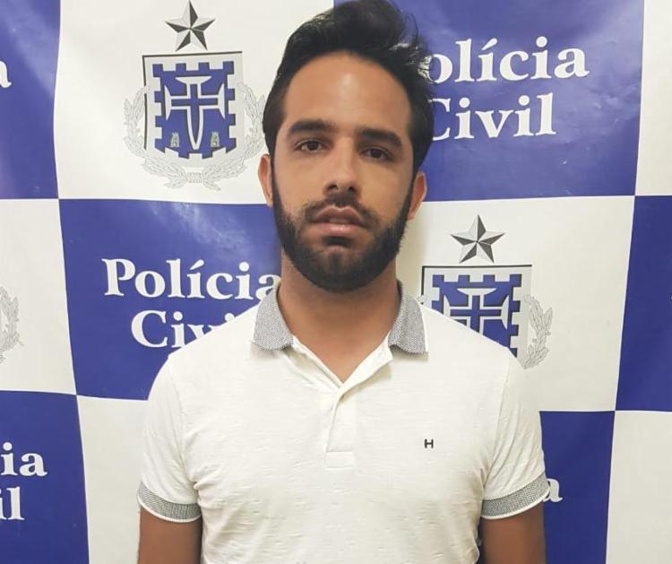 João Pedro será encaminhado para audiência de custódia no Núcleo de Prisão em Flagrante - Foto: Divulgação   SSP-BA