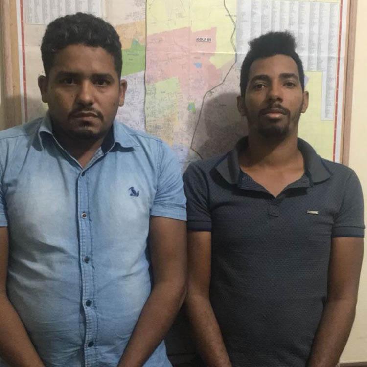 Wilias e Douglas foram levados para o Complexo Policial de Sobradinho - Foto: Divulgação | Polícia Civil