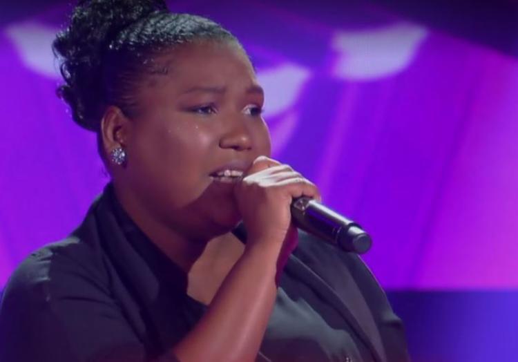 Jamile, que canta desde os nove anos, escolheu
