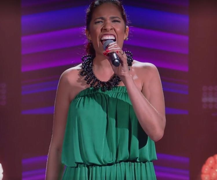Baiana despertou o interesse de Lulu Santos e Carlinhos Brown ao cantar