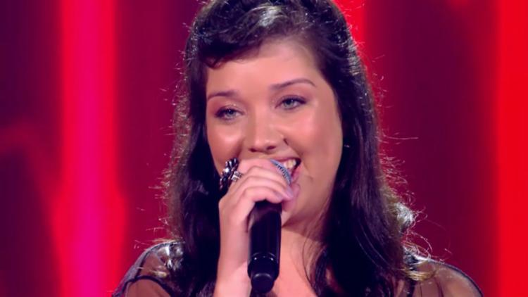 Géssica, que cantou