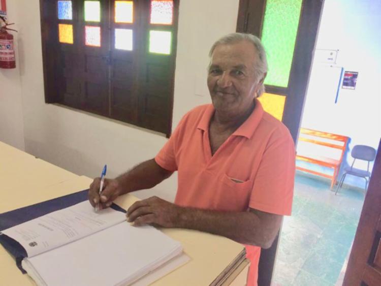 José Francisco dos Reis, 68 anos, tinha aberto um processo contra a empresa que trabalhava - Foto: Divulgação | TRT5