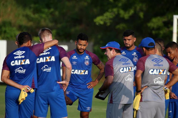 Atividade contou com retornos de Marco Antônio e Douglas - Foto: Felipe Oliveira l Divulgação l EC Bahia