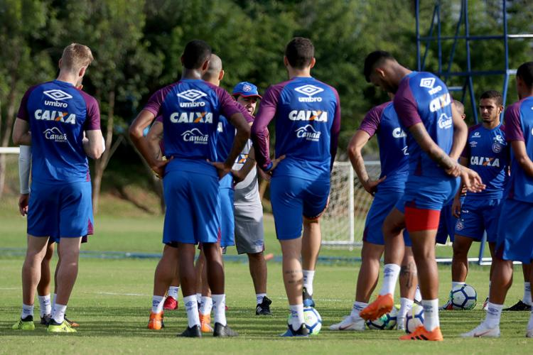 Tricolor tenta chegar pela primeira vez às semifinais da Copa do Brasil - Foto: Felipe Oliveira l EC Bahia