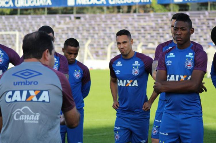 Tricolor visita o time uruguaio para se manter na luta por título - Foto: Reprodução l Twiiter l |@ecbahia