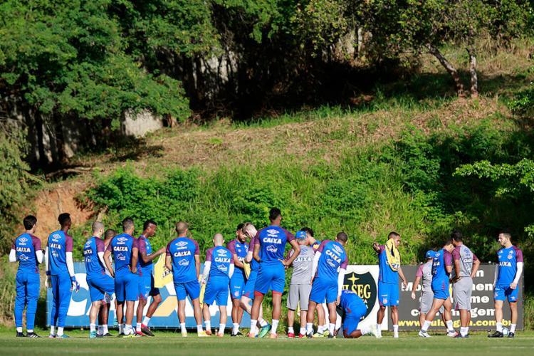 Tricolor ainda não venceu como visitante no Brasileirão - Foto: Felipe Oliveira l EC Bahia