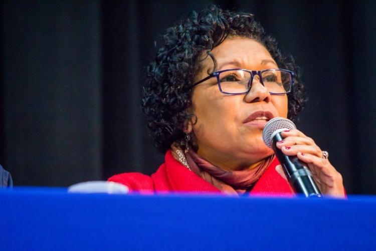 Vera Lúcia é a candidata do PSTU | Foto: Romerito Pontes | Direitos Reservados