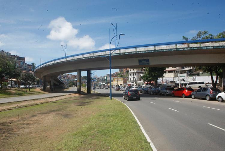 Pilares das estruturas do Rômulo Almeida e Juscelino Kubitscheck (foto) foram avaliados