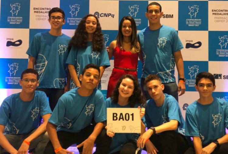 Estudantes de Andaraí, Araci e Tanque Novo ganham medalha de ouro na 13ª OBMEP