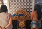 Dupla é detida com cerca de 100 quilos de maconha em Conquista | Foto: Divulgação | PRF