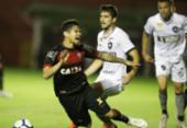 Vitória sai na frente, mas defesa não vai bem e time perde de virada para o Botafogo | Foto: Raul Spinassé | Ag. A TARDE