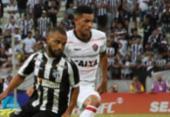 Vitória tem atuação fraca e perde para o Ceará | Foto: Divulgação | E. C. Vitória