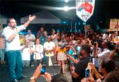 Após 4h de atraso, Boulos participa de comício para apoiadores em Salvador   Foto: Roy Rogers