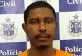 Suspeito de matar a companheira com espeto se apresenta à polícia | Foto: Divulgação | SSP-BA