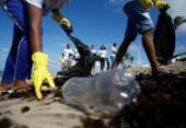 Faculdade promove limpeza em praias de Salvador | Foto: Joá Souza | Ag. A TARDE