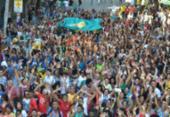 Marcha para Jesus movimenta centro de Salvador. veja imagens | Foto: Shirley Stolze | Ag. A TARDE