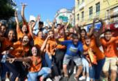 Fieis participam de Marcha para Jesus no centro | Foto: